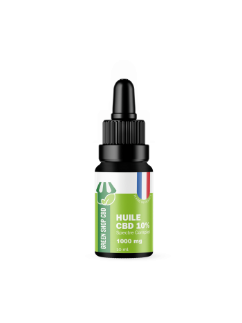 Huile CBD 10% Made in France