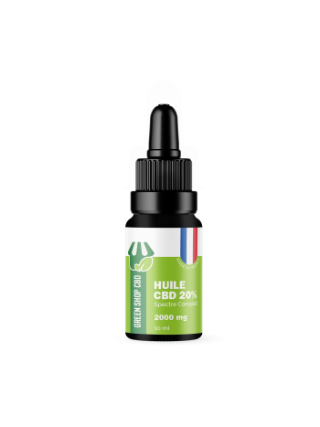 Huile CBD 20% Made in France